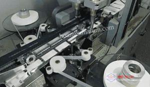 6. Bổ sung vải không dệt vào mép khẩu trang