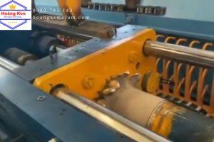 4. Cưa +Robot+Bóc vỏ +nung biến tần